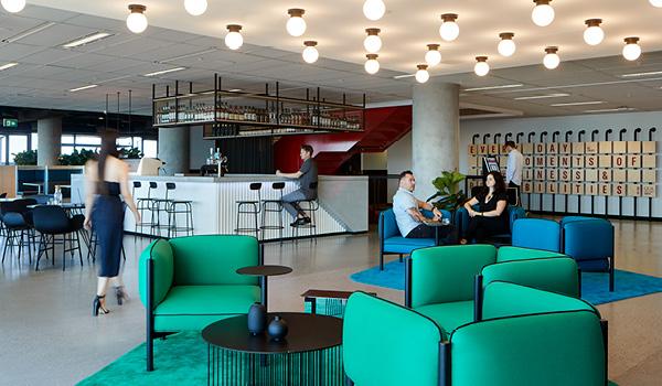Unispace interior designed Coca-Cola Amatil workplace