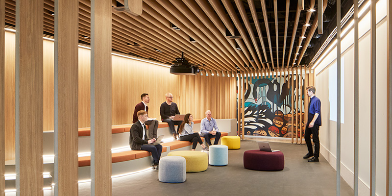Unispace's Woodside, Perth