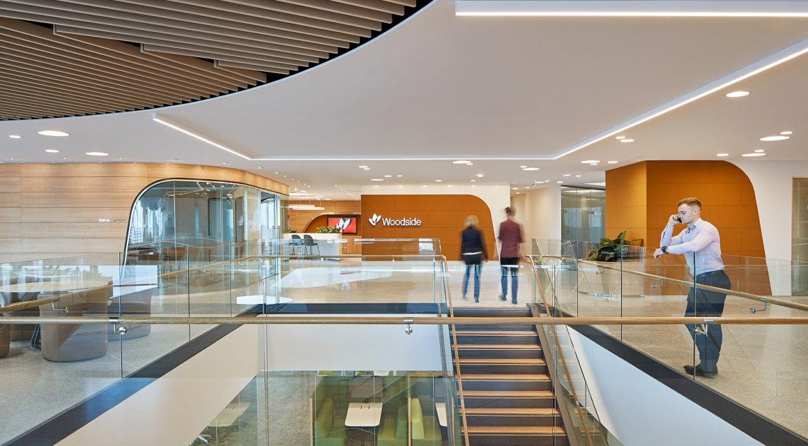 Unispace's Woodside, Perth featured in Indesign magazine
