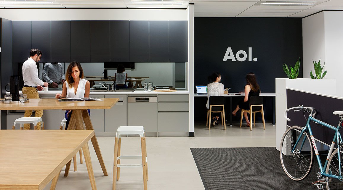 Science & Storytelling, AOL Workplace designed by Unispace