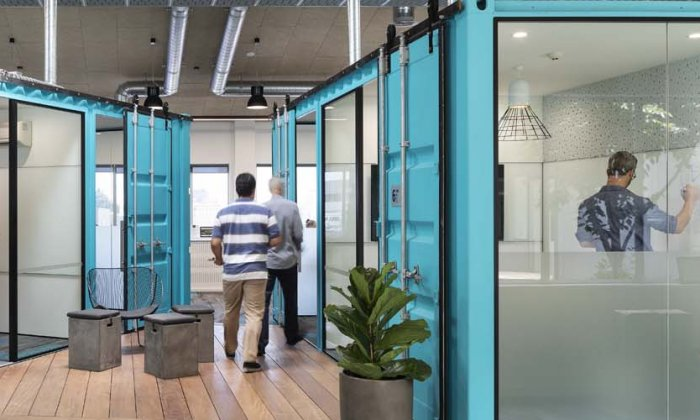 HEB Construction, Auckland headquarters by Unispace (VINCI Group)