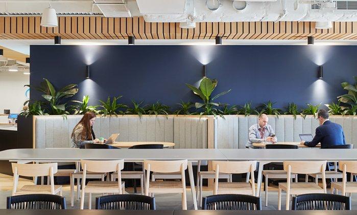 fonterra, unispace, melbourne, workplace design, productivity in the workplace, workspace design, office design