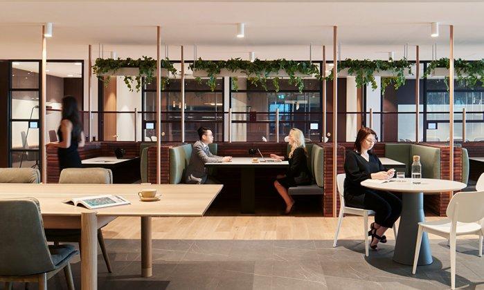 TEC, Unispace, The Executive Centre, Melbourne, Workplace design, workspace design