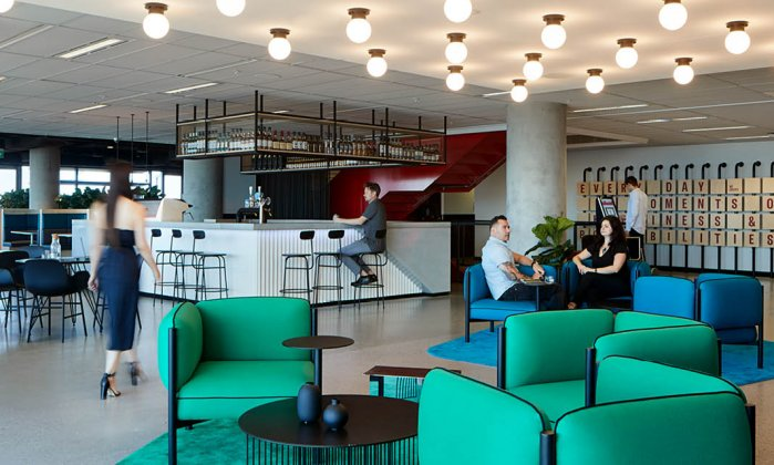FMCG, Unispace, Bar, Workplace Bar, Office Bar, Coca-Cola Amatil,