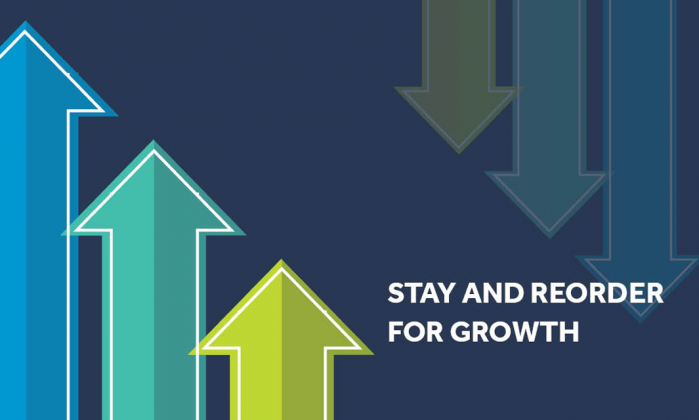 Stay and reorder for growth