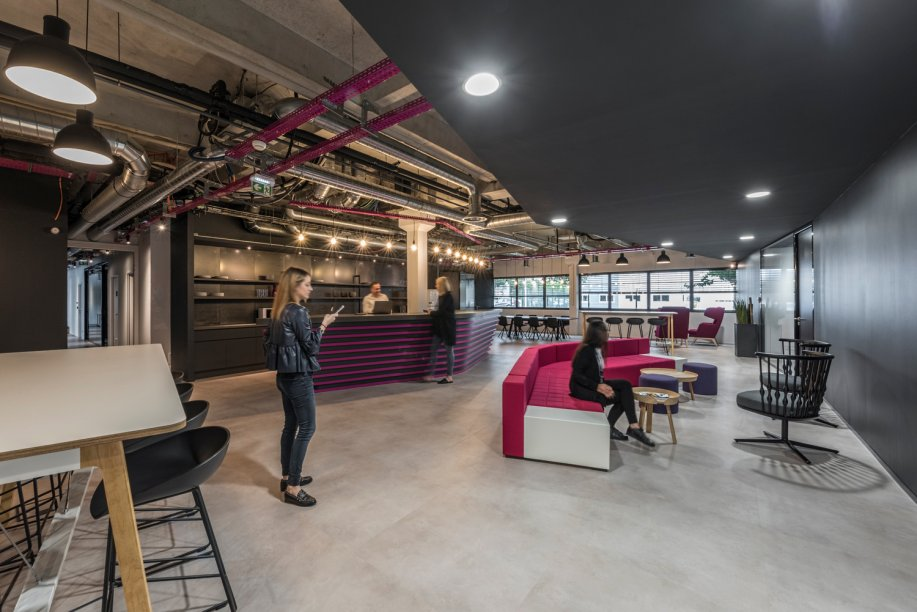 winning garage office designs.  Workspace and Office Design Projects in Toulouse Airbus Unispace