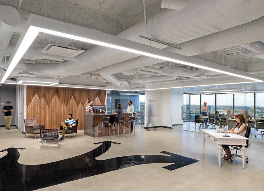 Workspace and Office Design Projects in Bay Area: Amobee