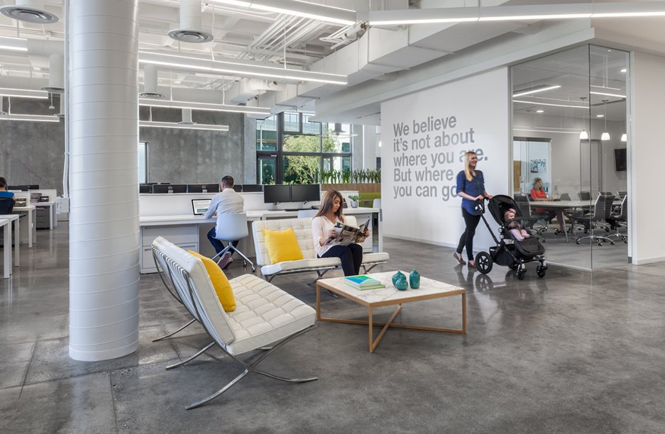 Workspace and Office Design Projects in El Segundo: Bugaboo
