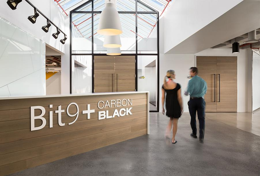 Workspace and Office Design Projects in Massachusetts: Carbon Black
