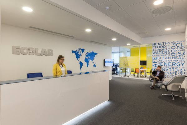 Workspace and office design projects in milan ecolab for Office design italia srl
