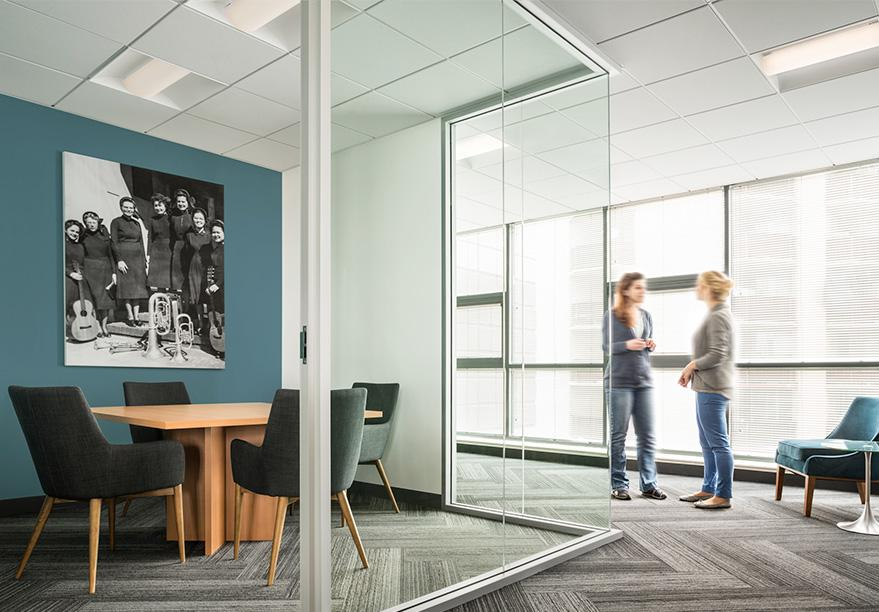 Workspace and Office Design Projects in San Francisco: The Salvation Army