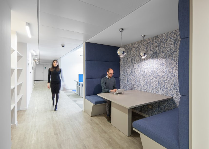 Workspace and Office Design Projects in Milan: Akamai
