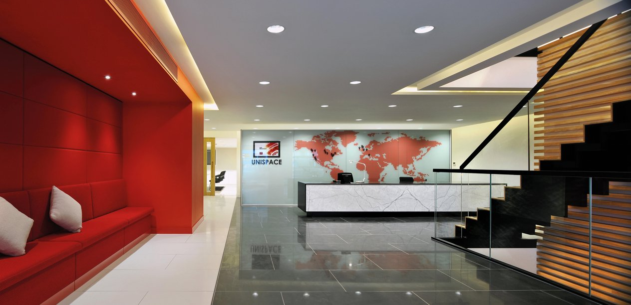 Workspace and Office Design Projects: Unispace London