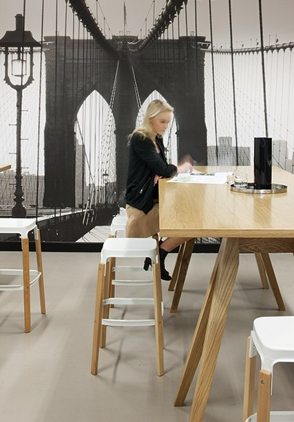 Workspace and Office Design Projects in New York: AOL