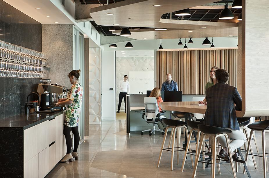Workspace and Office Design Projects: Unispace Auckland