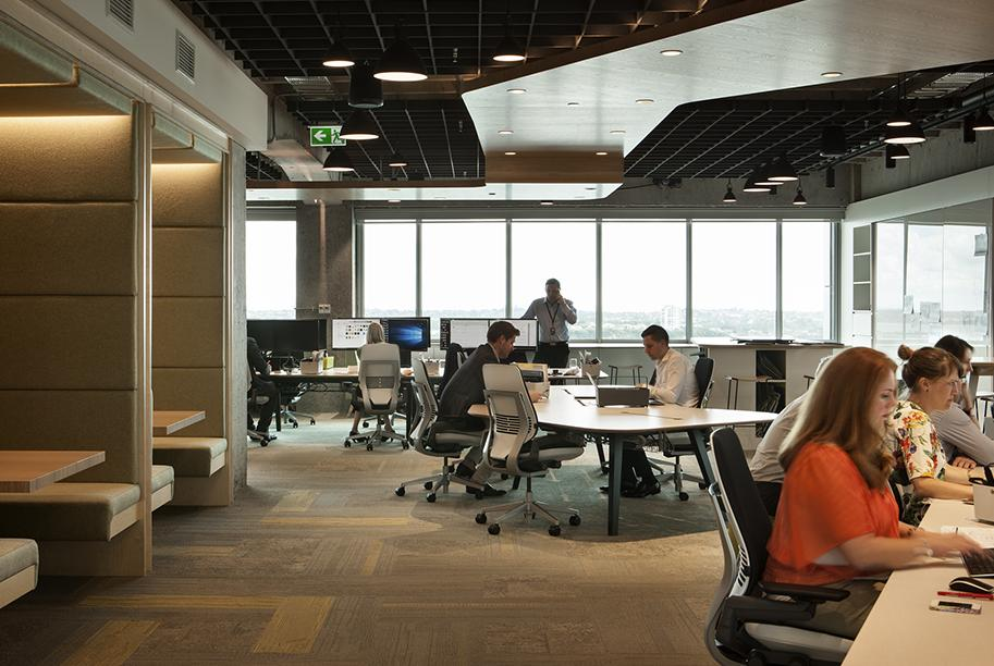 Workspace and office design projects unispace auckland for Office design auckland