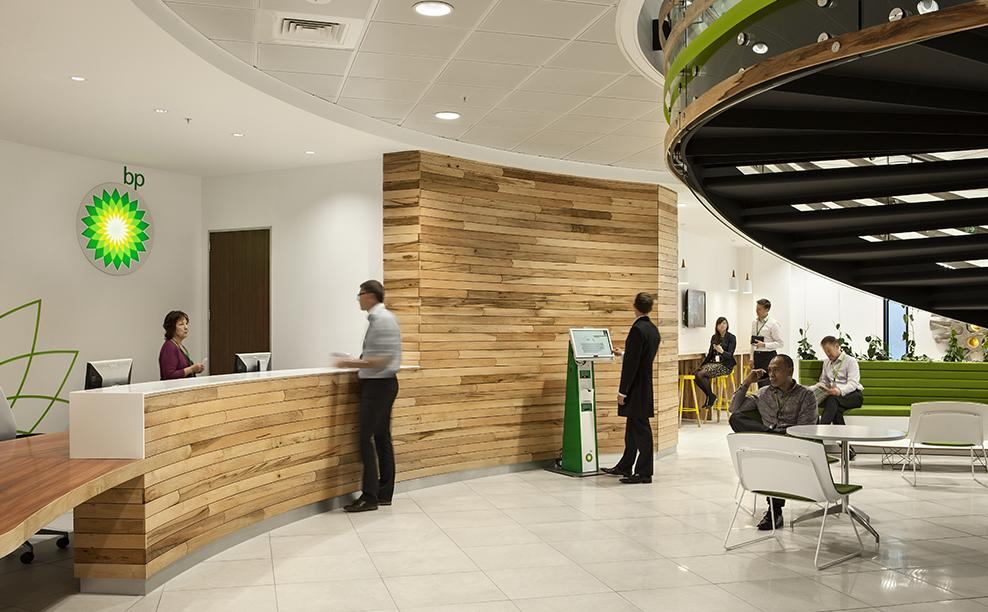 Workspace and Office Design Projects in Auckland: BP