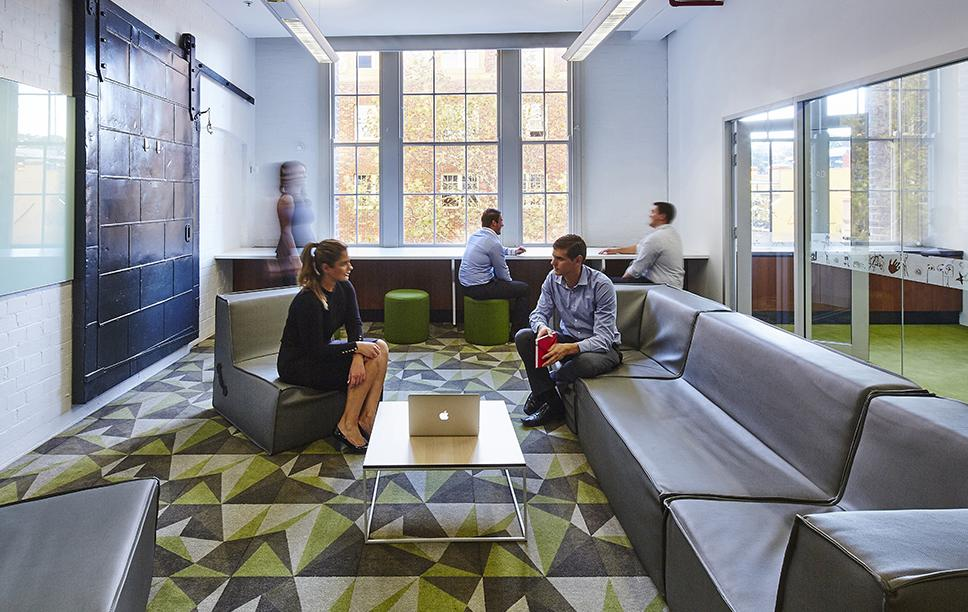 Workspace and Office Design Projects in Sydney: Dimension Data