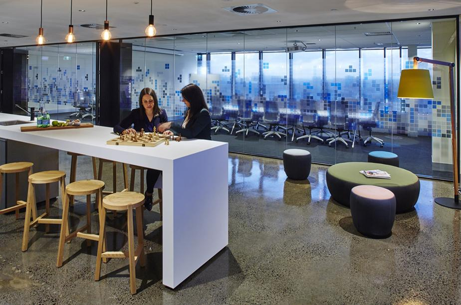 Workspace and Office Design Projects in Melbourne: Flexera