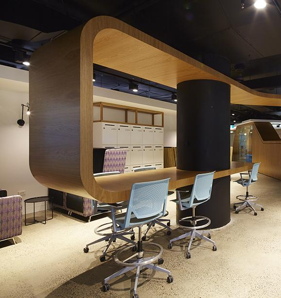 Workspace and Office Design Projects in Sydney: GE