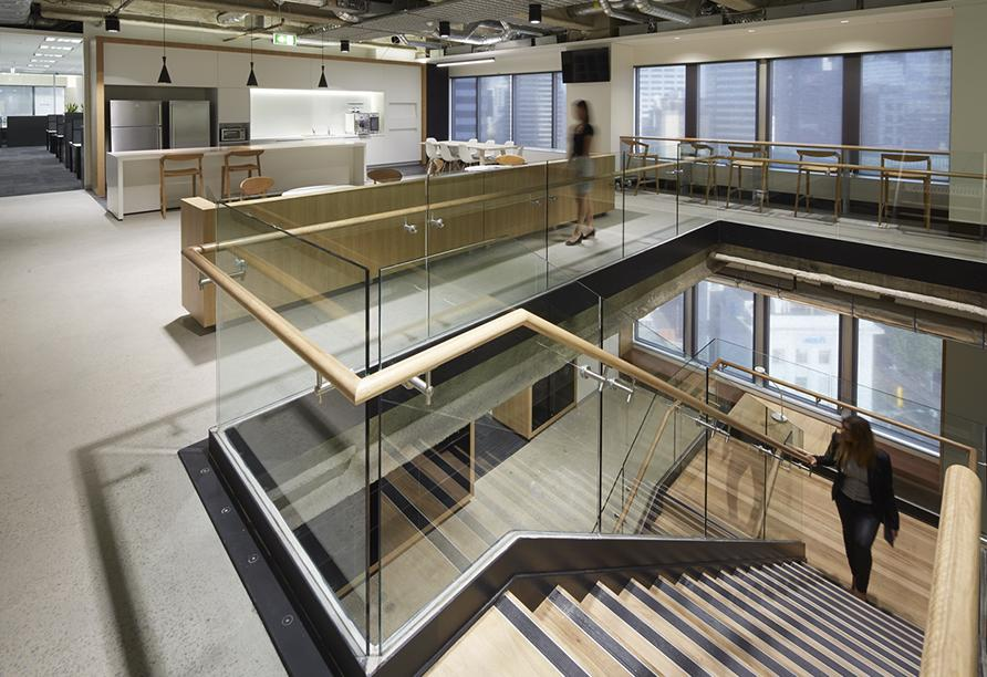 Workspace and Office Design Projects in Melbourne: Rigby Cooke Lawyers