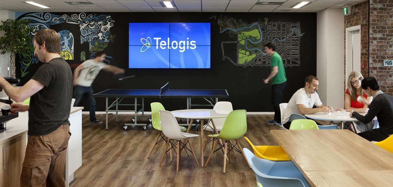 Workspace and Office Design Projects in Christchurch, NZ: Telogis