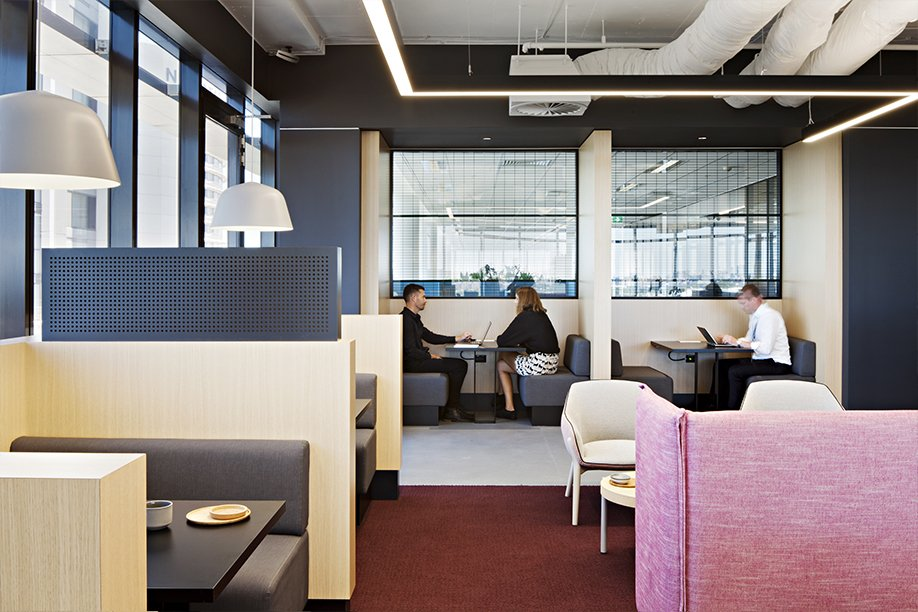 Workspace and office design projects in sydney ubt the for Office design kz