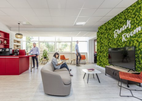 Orange's new workplace in Nice, France