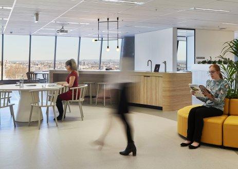 Golder, Unispace, Interior design, workplace design, interior architecture, golder associates, sydney interior design